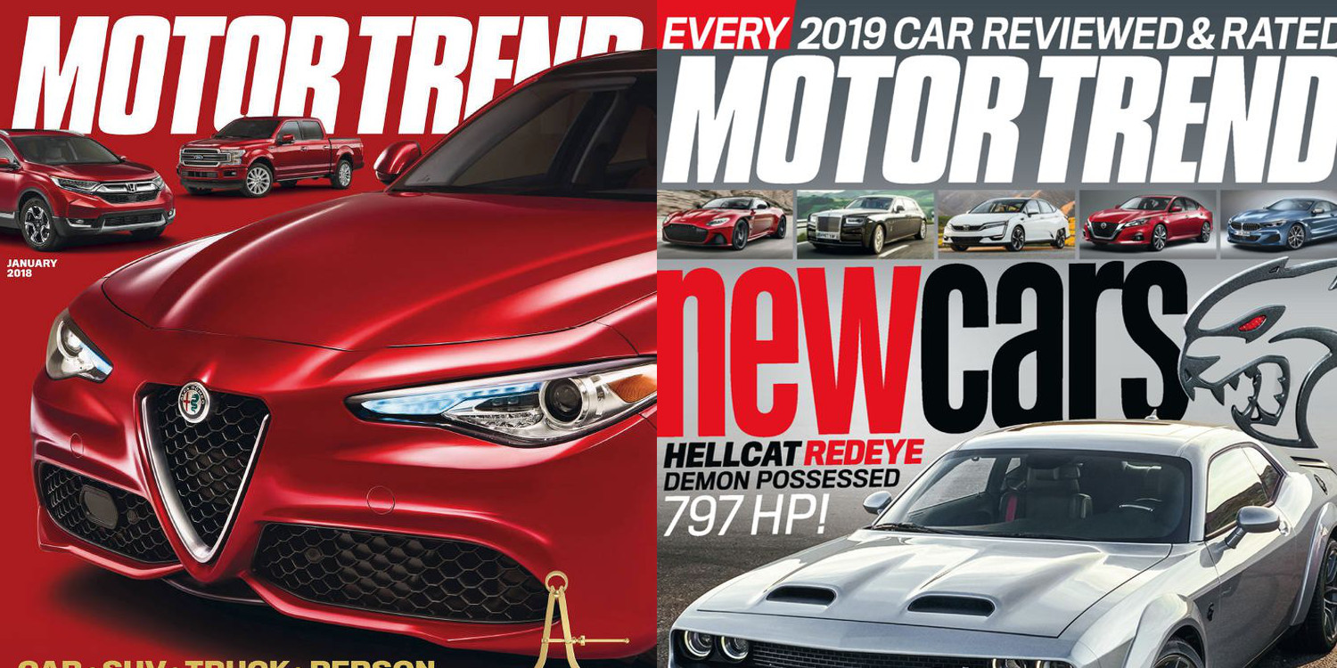 Lock in 4-years of Motor Trend magazine for just $12 today (Reg. $40+)