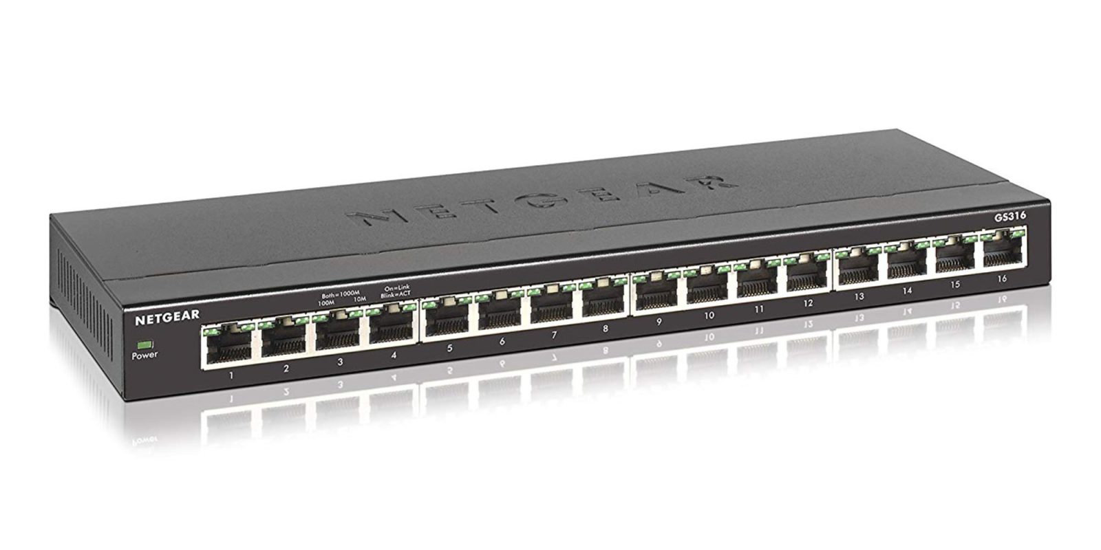 Surge network reliability w/ NETGEAR's 16-Port Gigabit Ethernet Switch: $44 (Reg. $70)