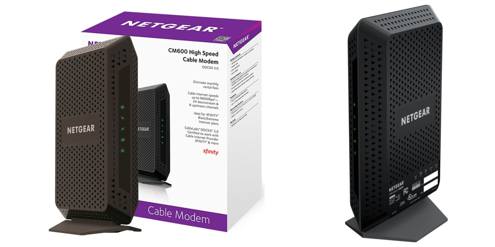 Ditch your rental and score this NETGEAR DOCSIS 3.0 Cable Modem at $60 shipped (Save $30)