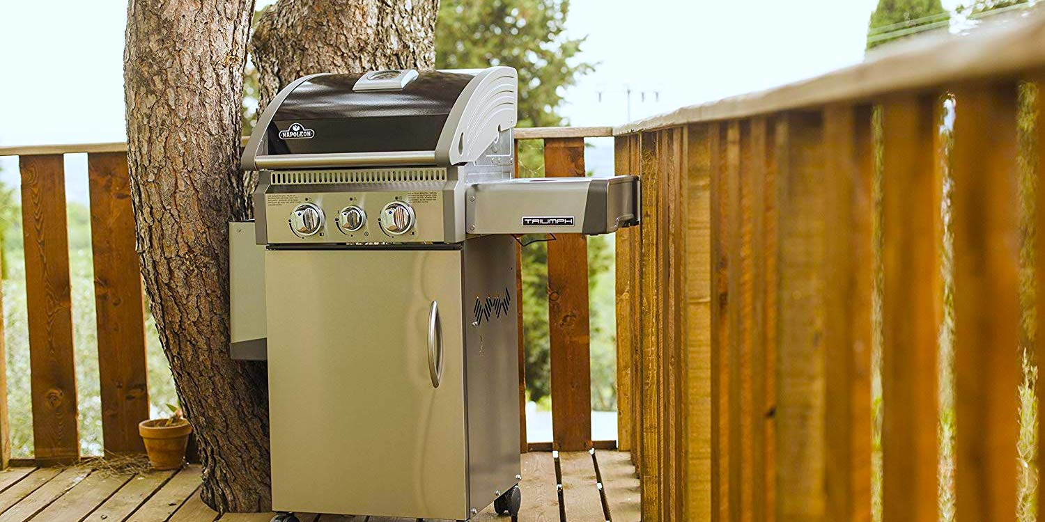 Upgrade to a Napoleon Triumph Grill at $200 off today: $300 shipped