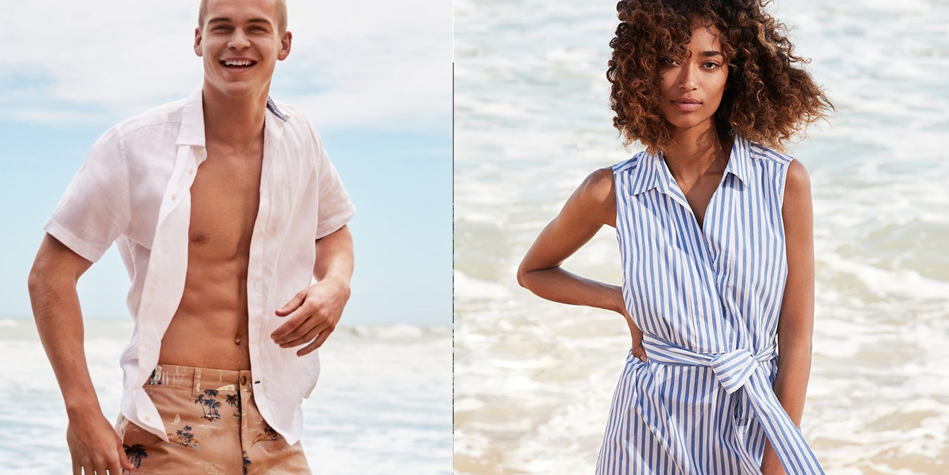 Nautica Flash Sale cuts 50% to 60% off swimsuits, T-shirts & more from $10