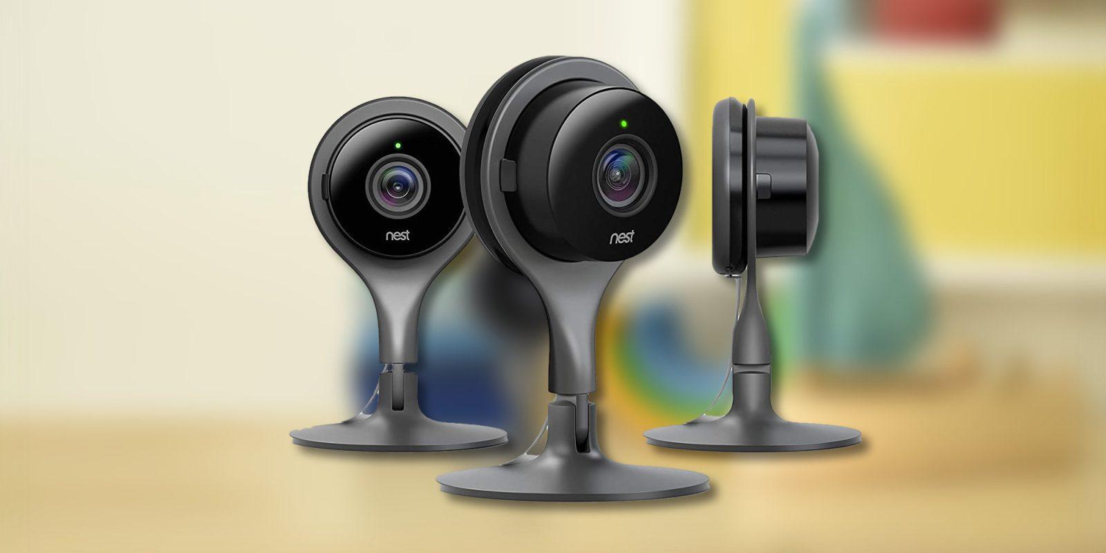 Snatch up three Google Nest Security Cameras for $316 50