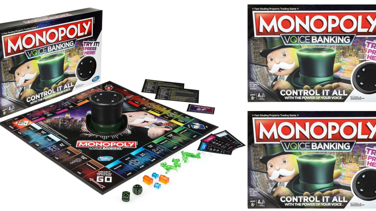 New Monopoly with voice commands