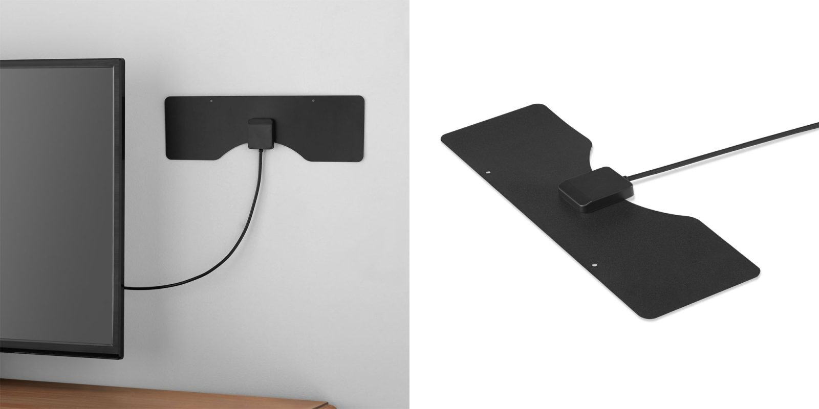 Cut the cord w/ Onn's highly-rated ultra-thin indoor antenna