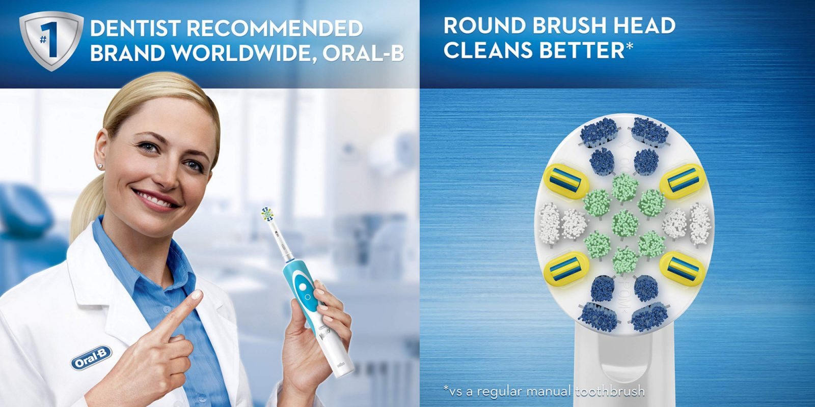 Grab this Oral-B FlossAction Electric Toothbrush for just $15 (Reg. $25+)