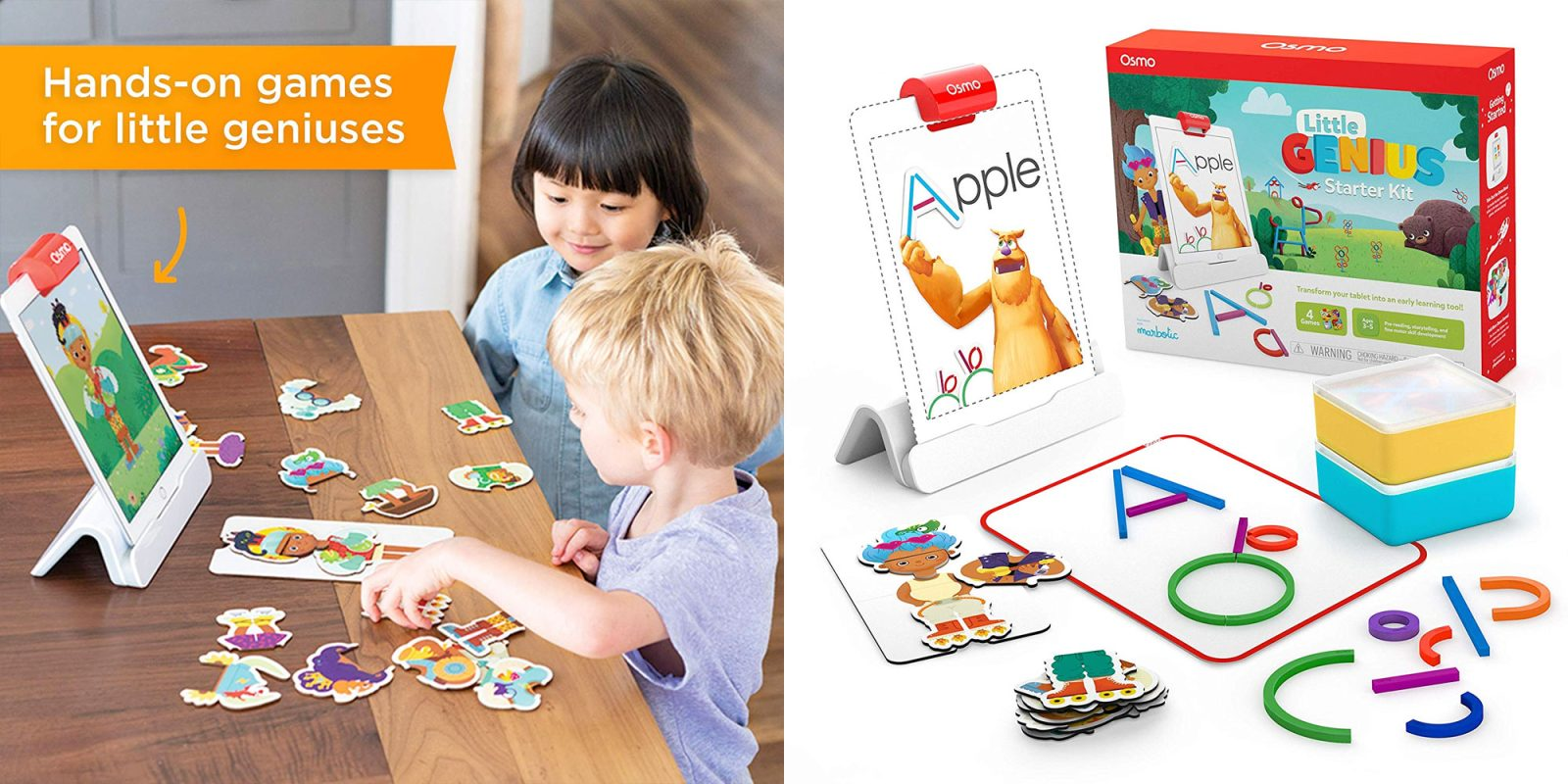 Osmo's latest iPad-based learning tool is aimed at preschoolers