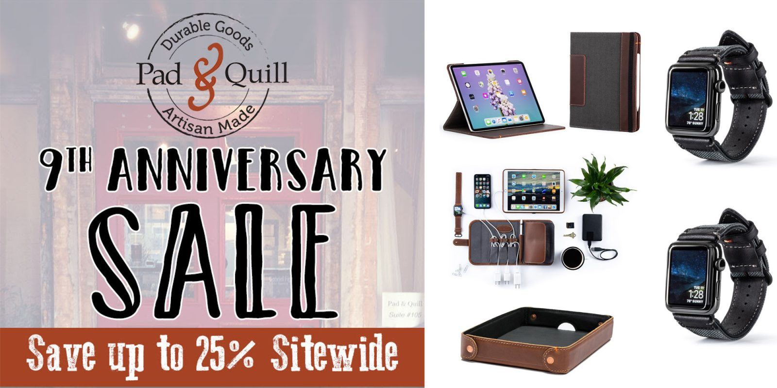 Pad & Quill sitewide sale up to 45% off: Watch bands, iPad cases, much more