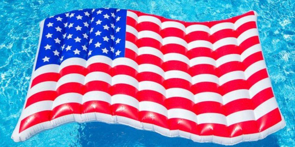 Patriotic Pool Float