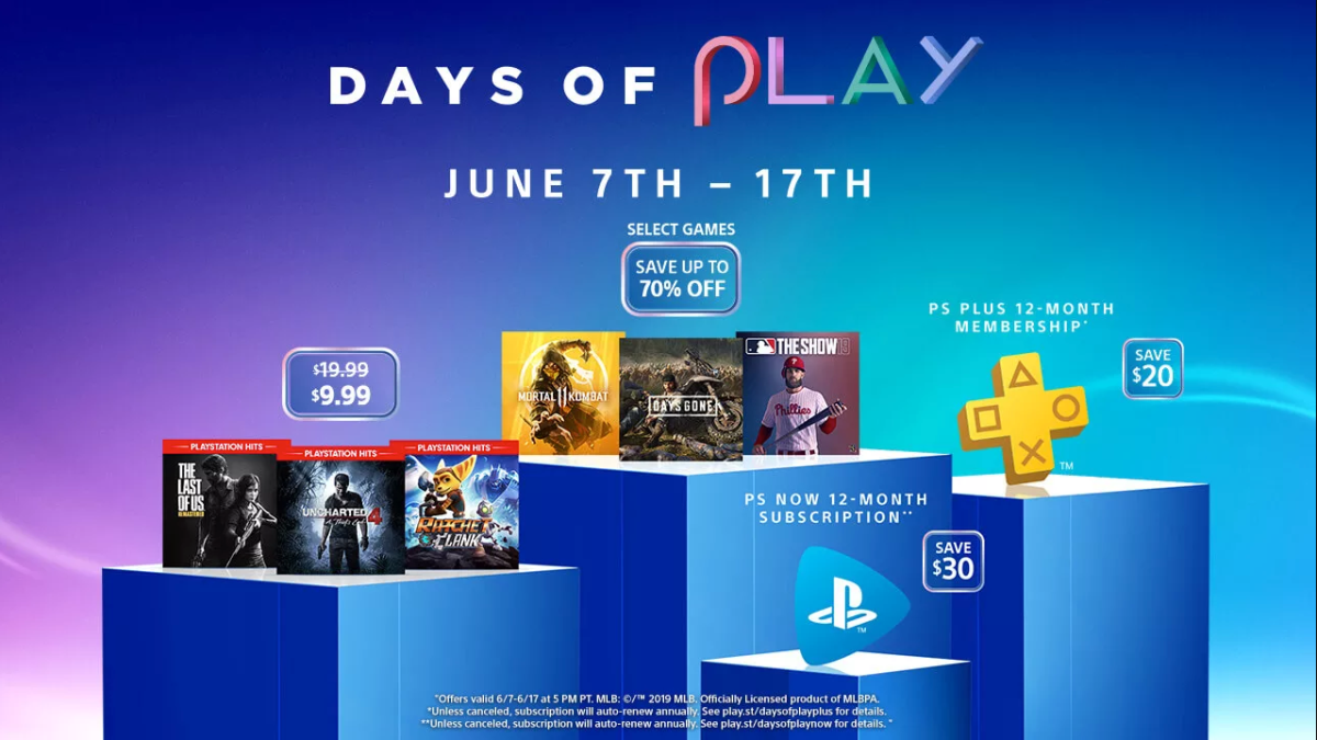 PlayStation Summer Sale Days of Play