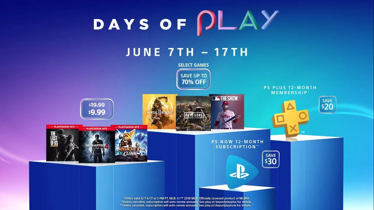 PlayStation Summer Sale includes 100's of PSN deals, $20 off PS Plus, more