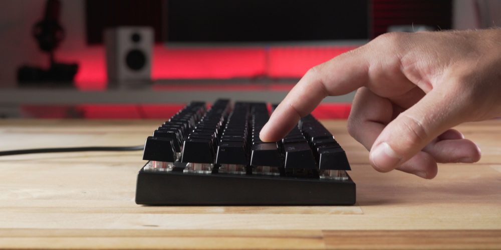 Plugable Keyboard Keystroke