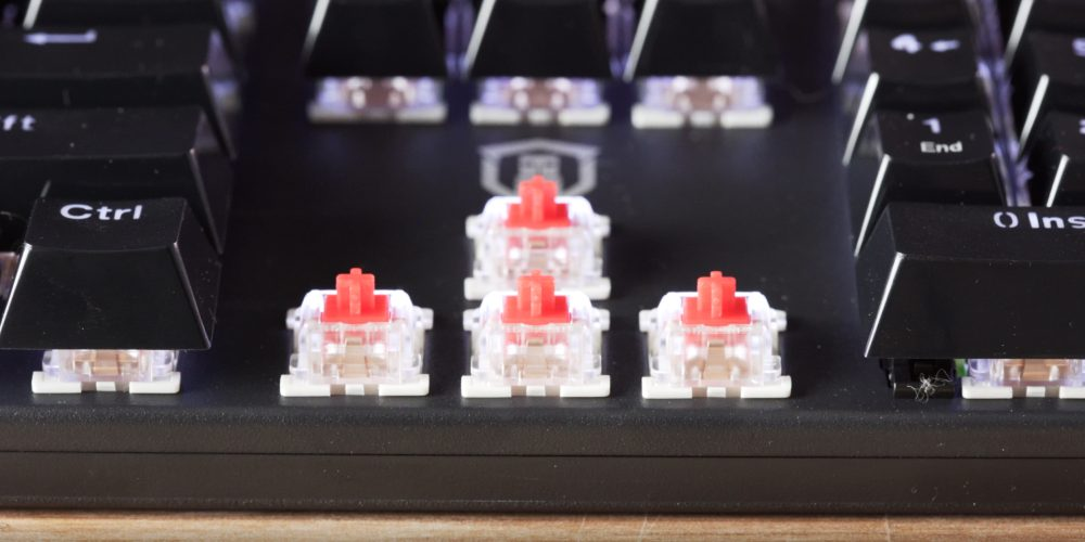 Plugable Mechanical Keyboard Red Switch