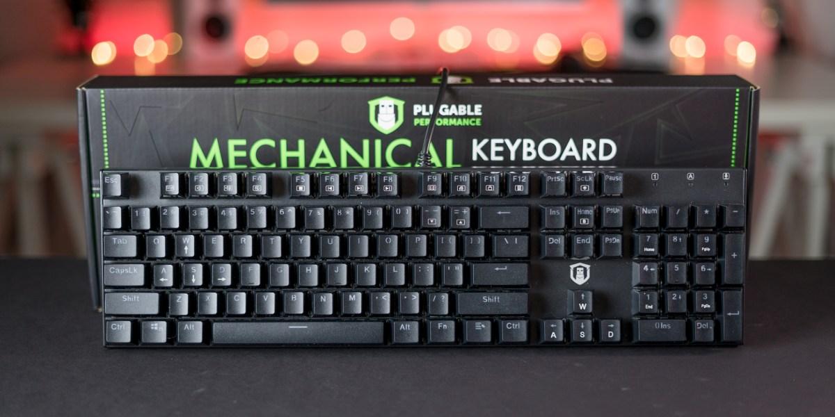 Plugable Mechanical Keyboard Feature