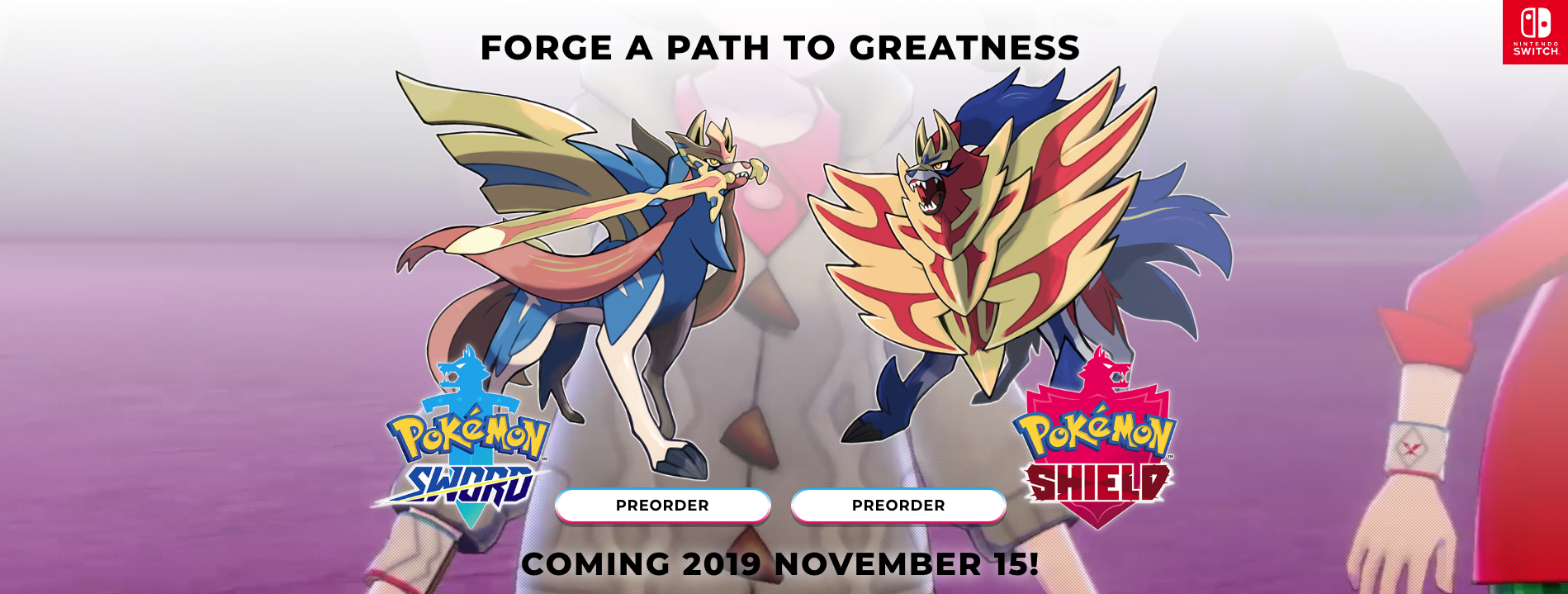 Pokemon Sword And Shield Release Date New Giant Monsters 9to5toys