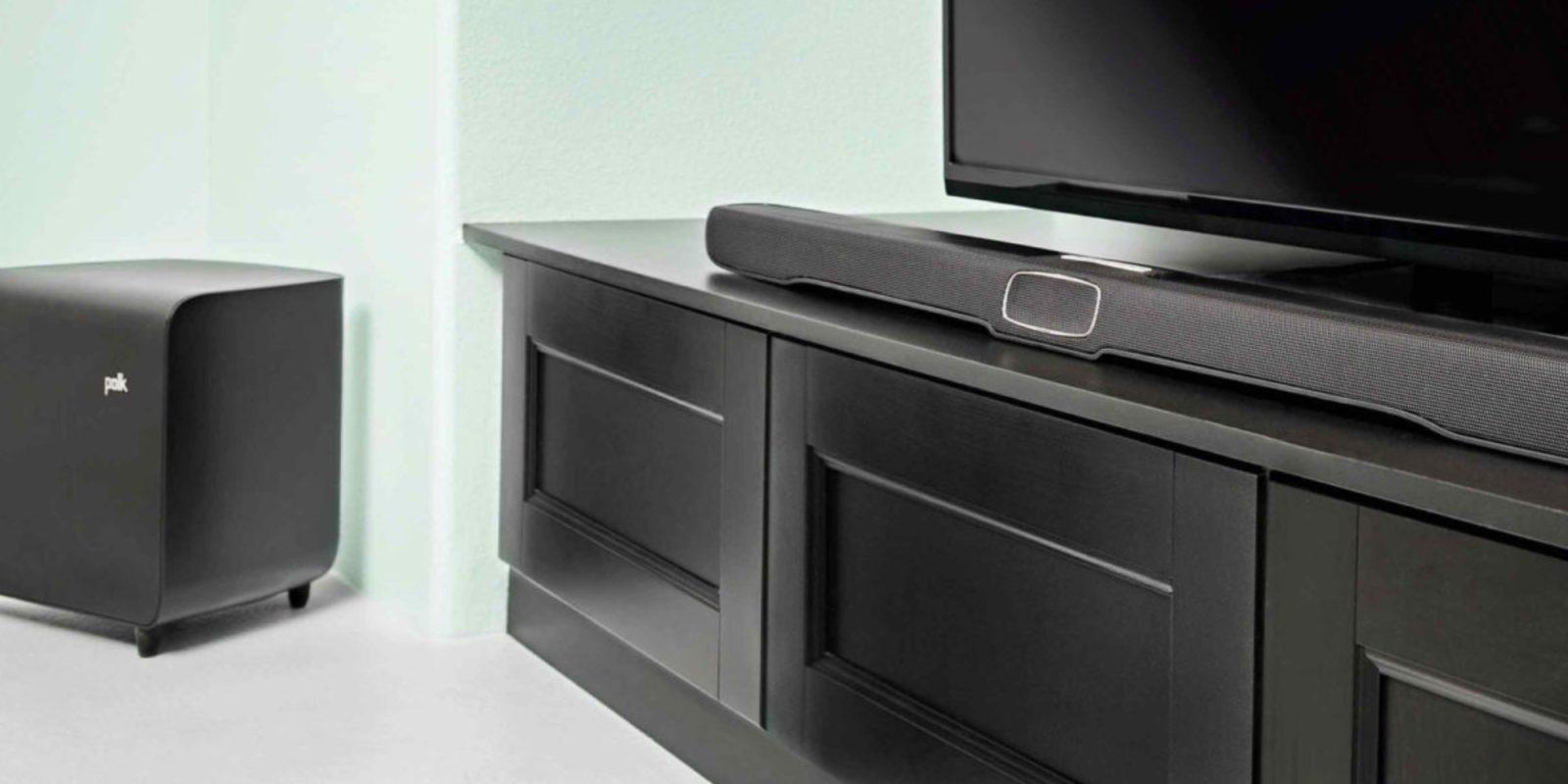 Improve your TV's audio for $300 w/ this Polk Omni Soundbar (20% off)