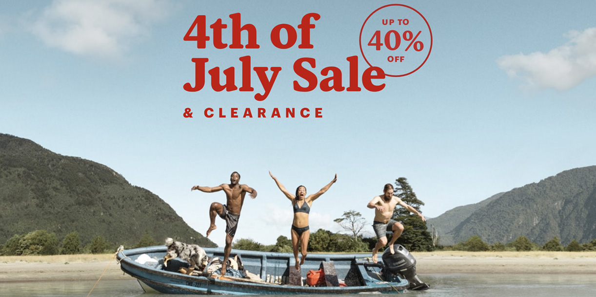 REI 4th of July Sale offers up to 40% off The North Face, Columbia & more