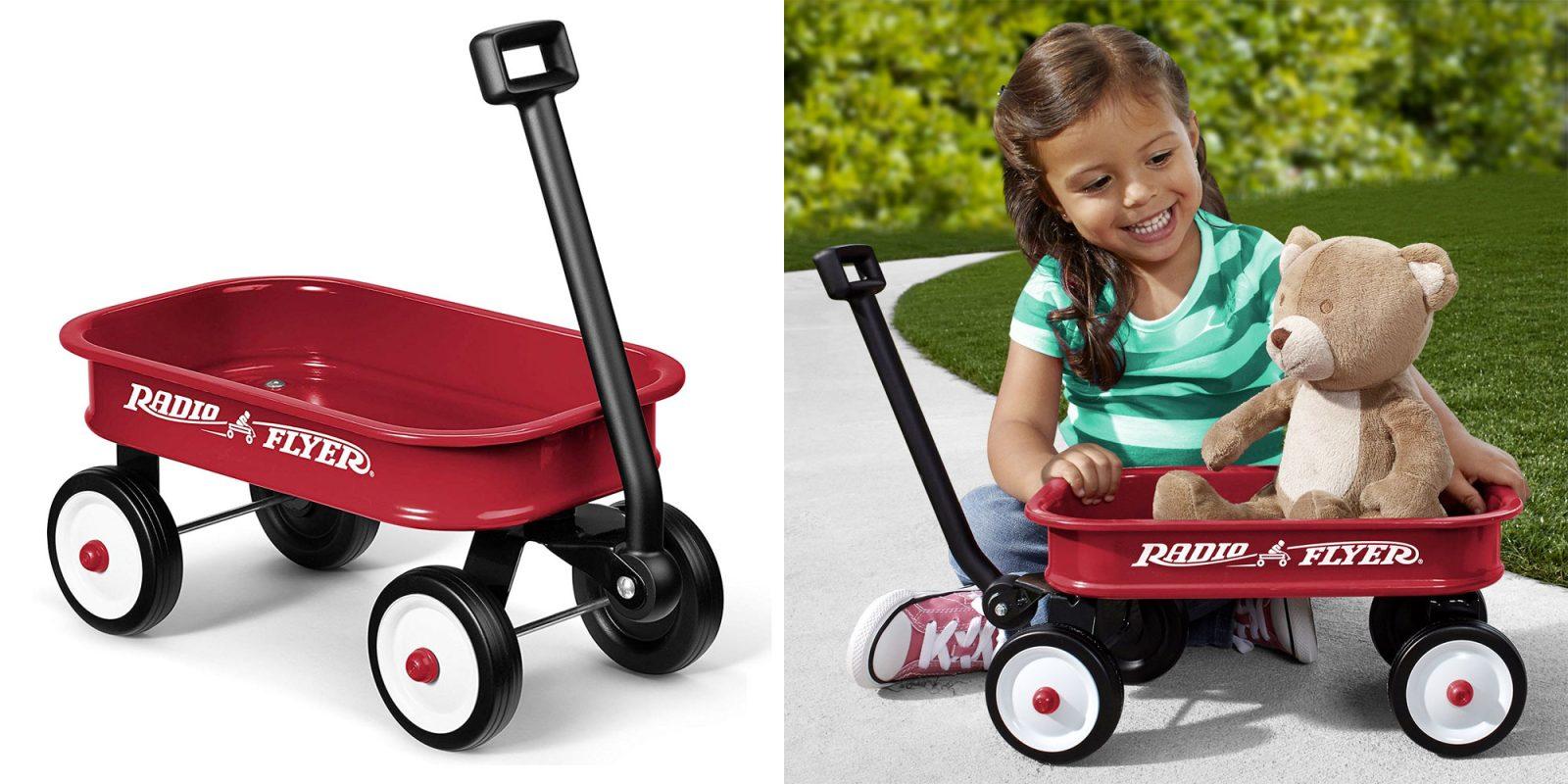 Enjoy evening strolls w/ Radio Flyer's best-selling Little Red Wagon for $10