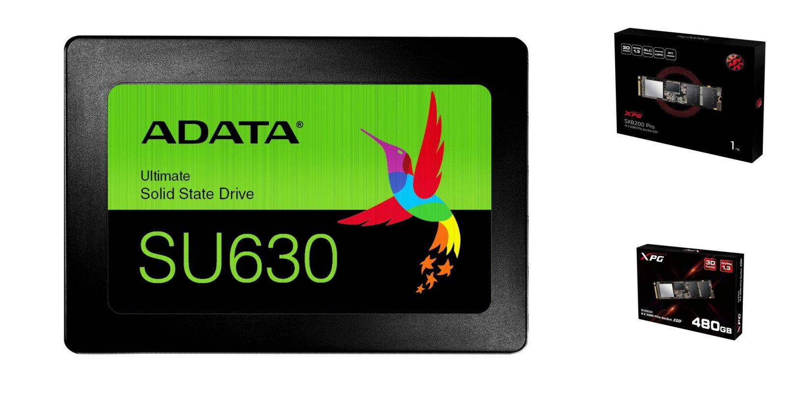 SSD Sale: ADATA 960GB 2 5-inch $75 (Save $15), XPG 1TB NVMe $127 50