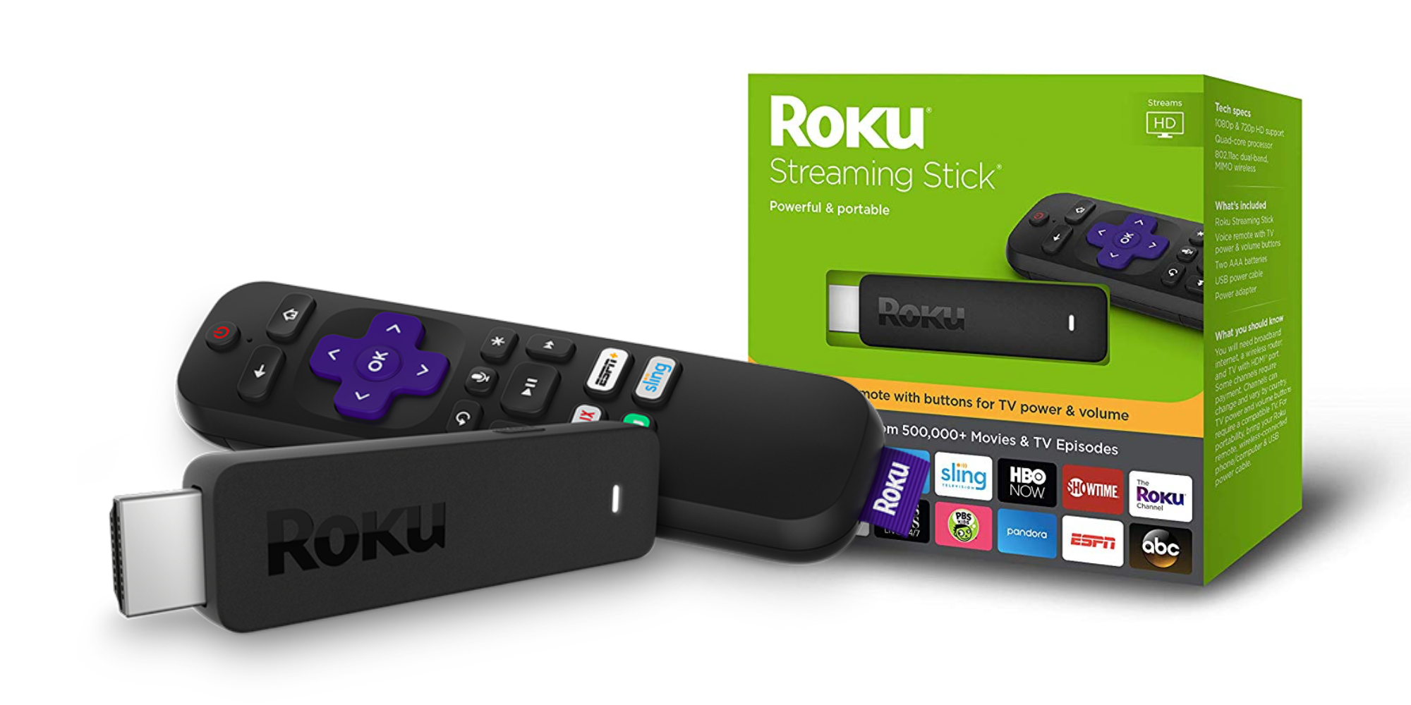 what is the roku stick