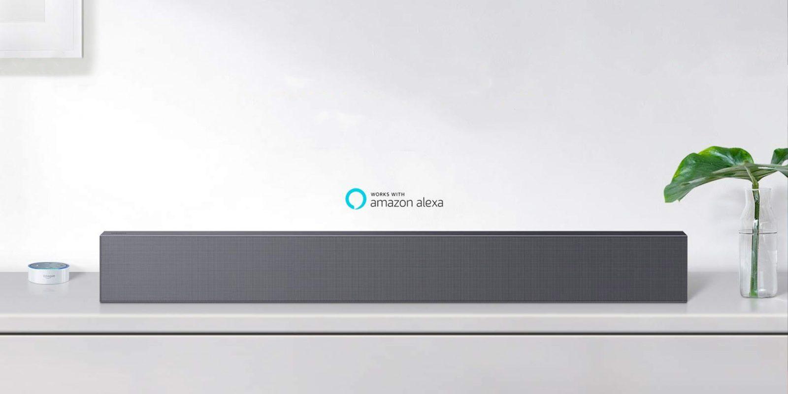 Samsung's Sound+ Slim 3-Channel Soundbar has Alexa built-in: $299 (Reg. $400+)