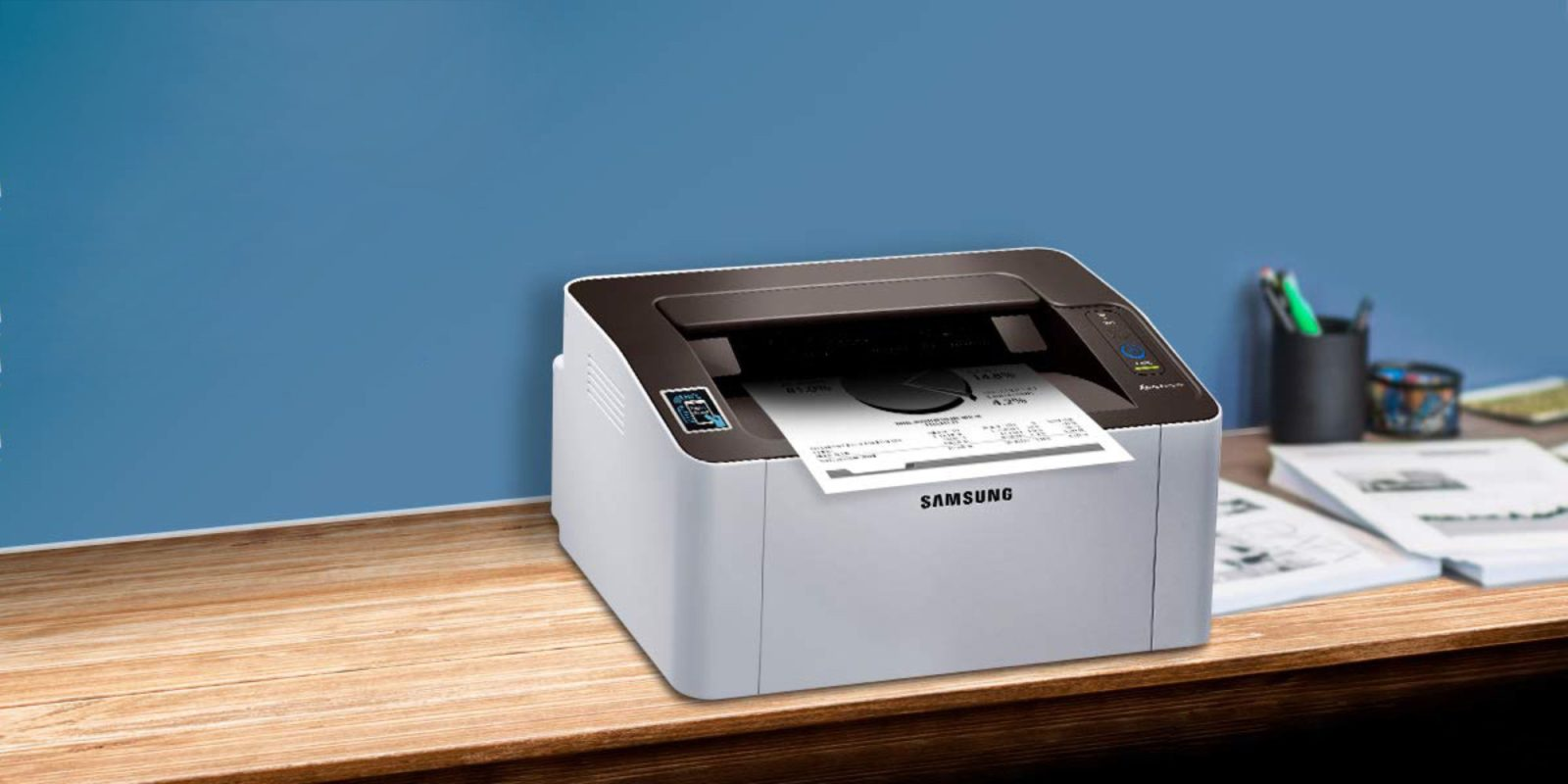 For $45, this Samsung AirPrint Laser Printer is a steal of a deal (Reg. $100)