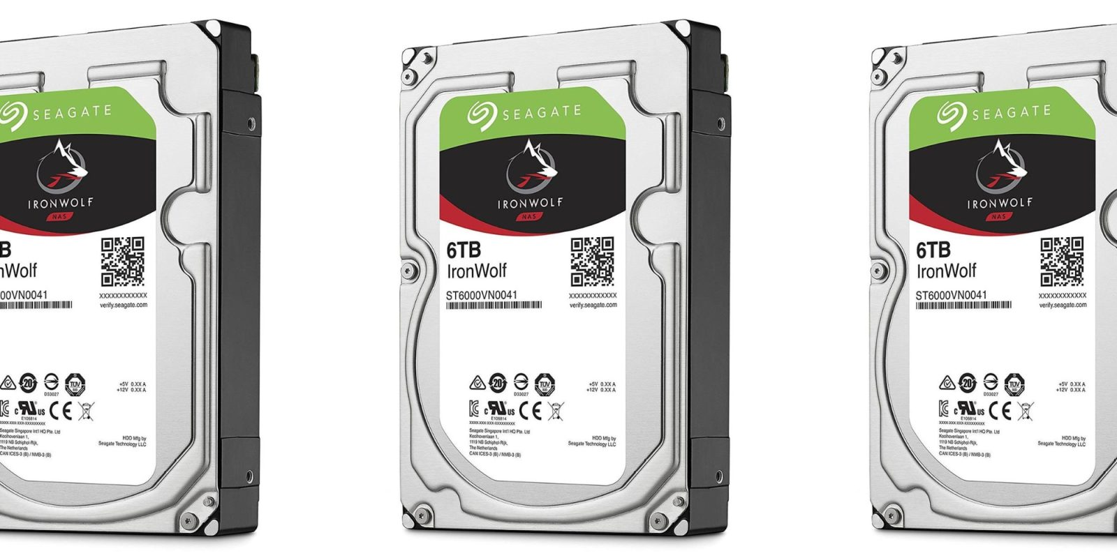 Seagate's IronWolf 6TB NAS Hard Drive drops to 2019 low at $140 ($40 off)