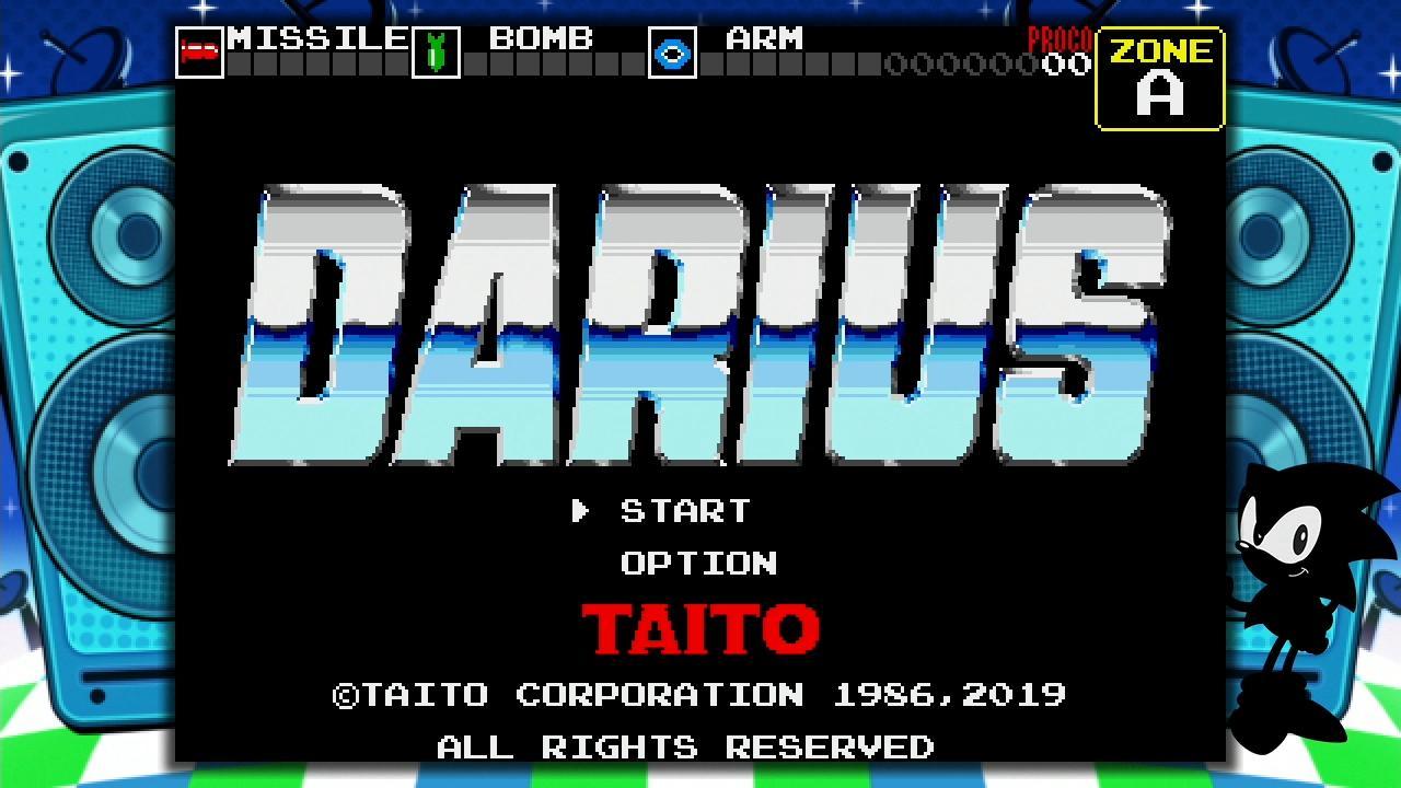 Sega Genesis Mini games Darius