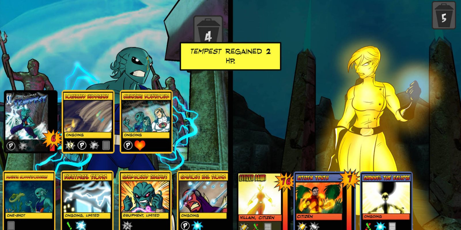 The iOS battle card game Sentinels of The Multiverse drops to $1 (Reg. $7)