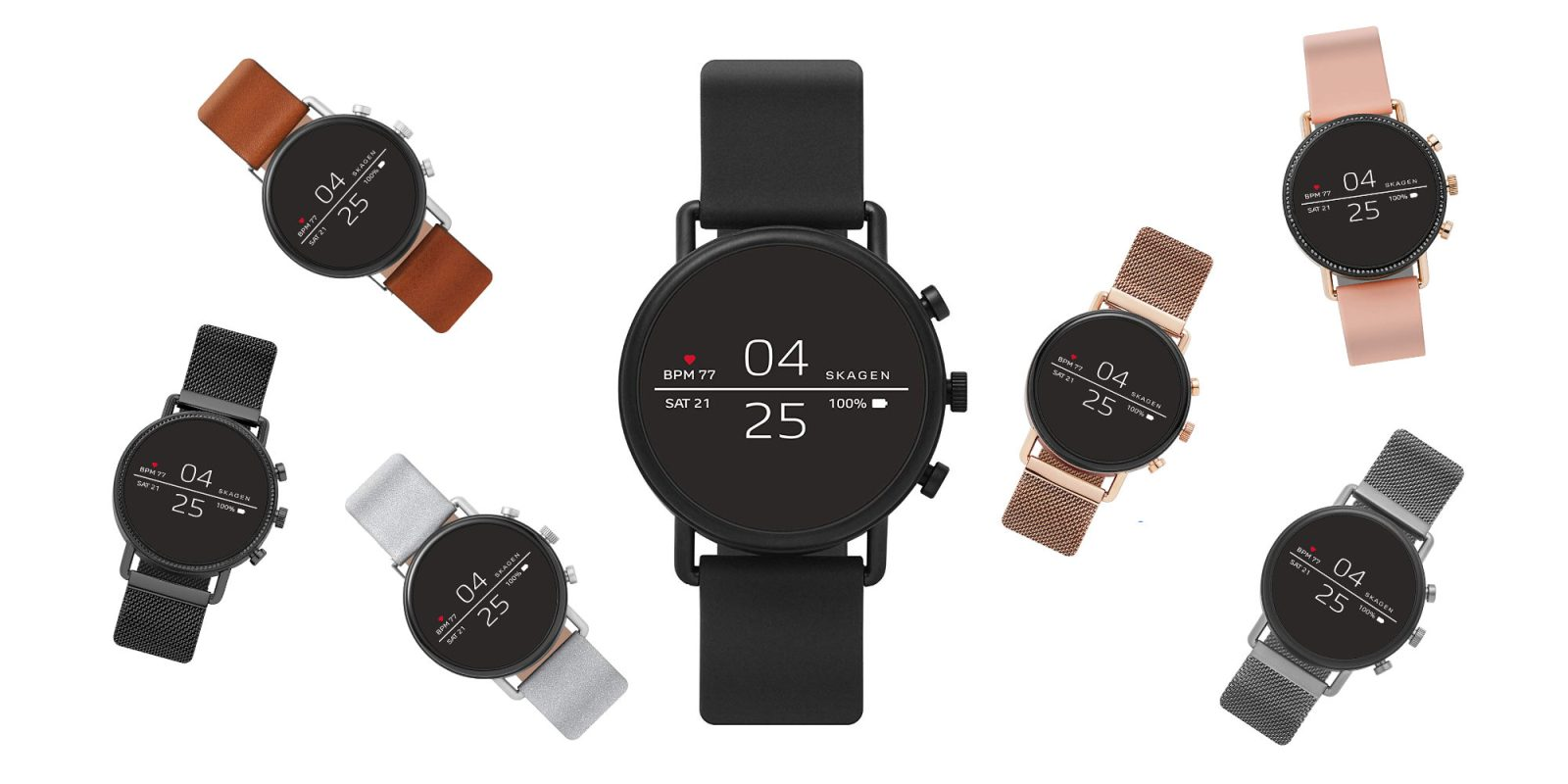 Amazon's Skagen Wear OS Smartwatch sale slashes eight styles to $199 (Reg. $275)
