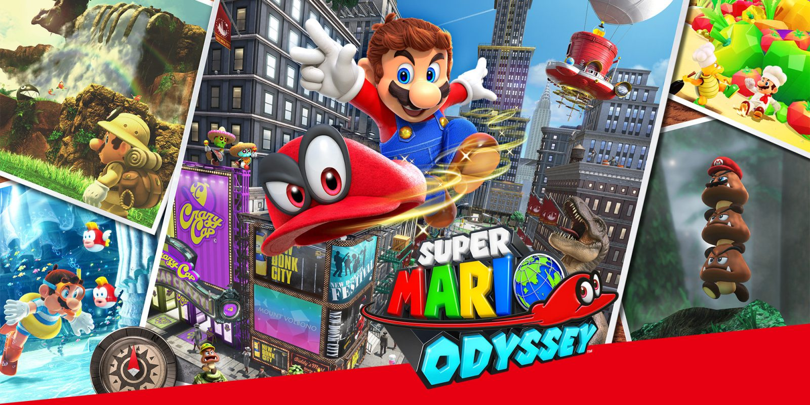 Today's Best Game Deals: Super Mario Odyssey $42, Captain Toad $30, more