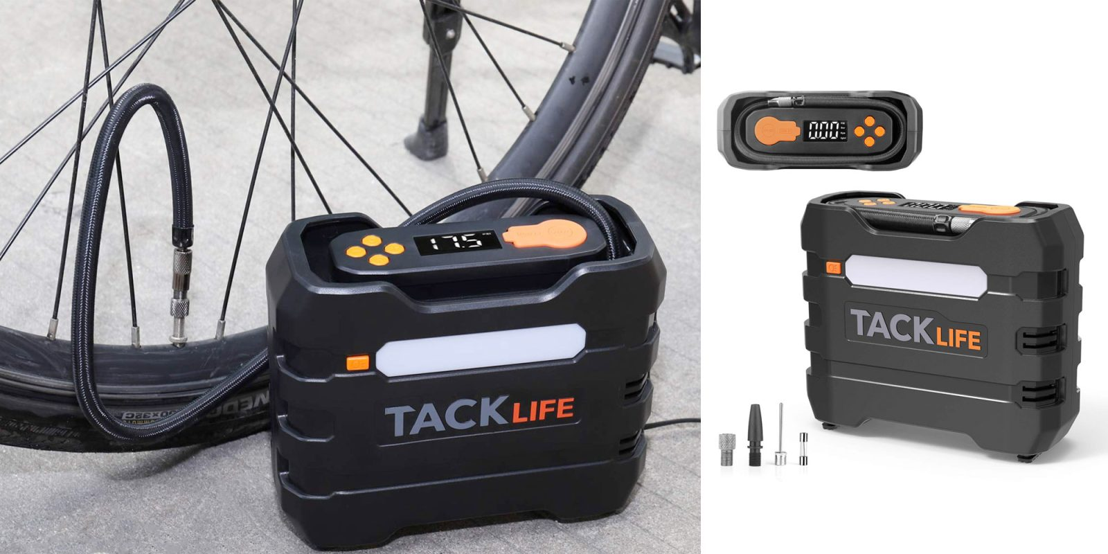 This digital tire inflator makes sure a flat never leaves you stranded for $23
