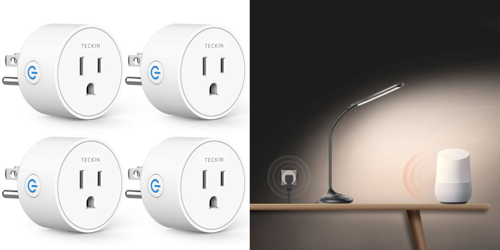 This four-pack of smart plugs is down to just $7 Prime shipped each
