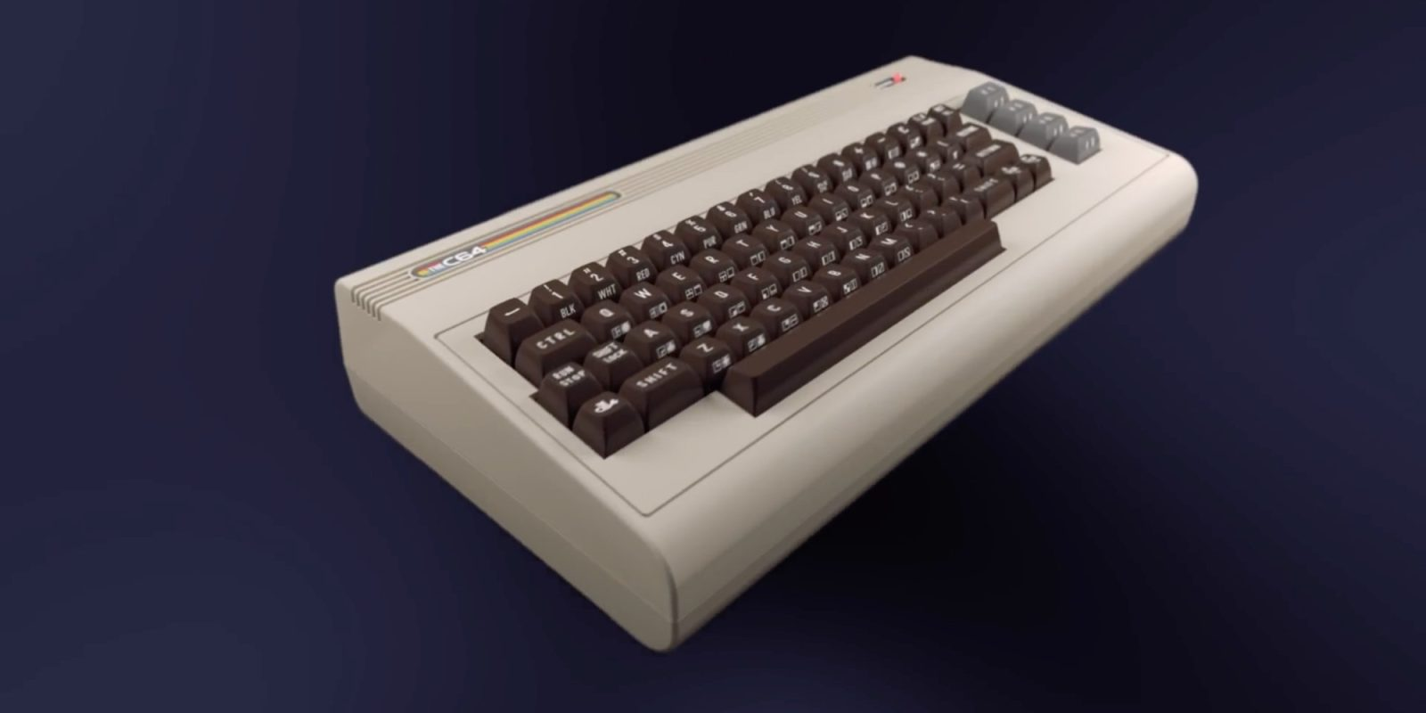 Retro Games unveils THEC64, a full-size Commodore 64 clone