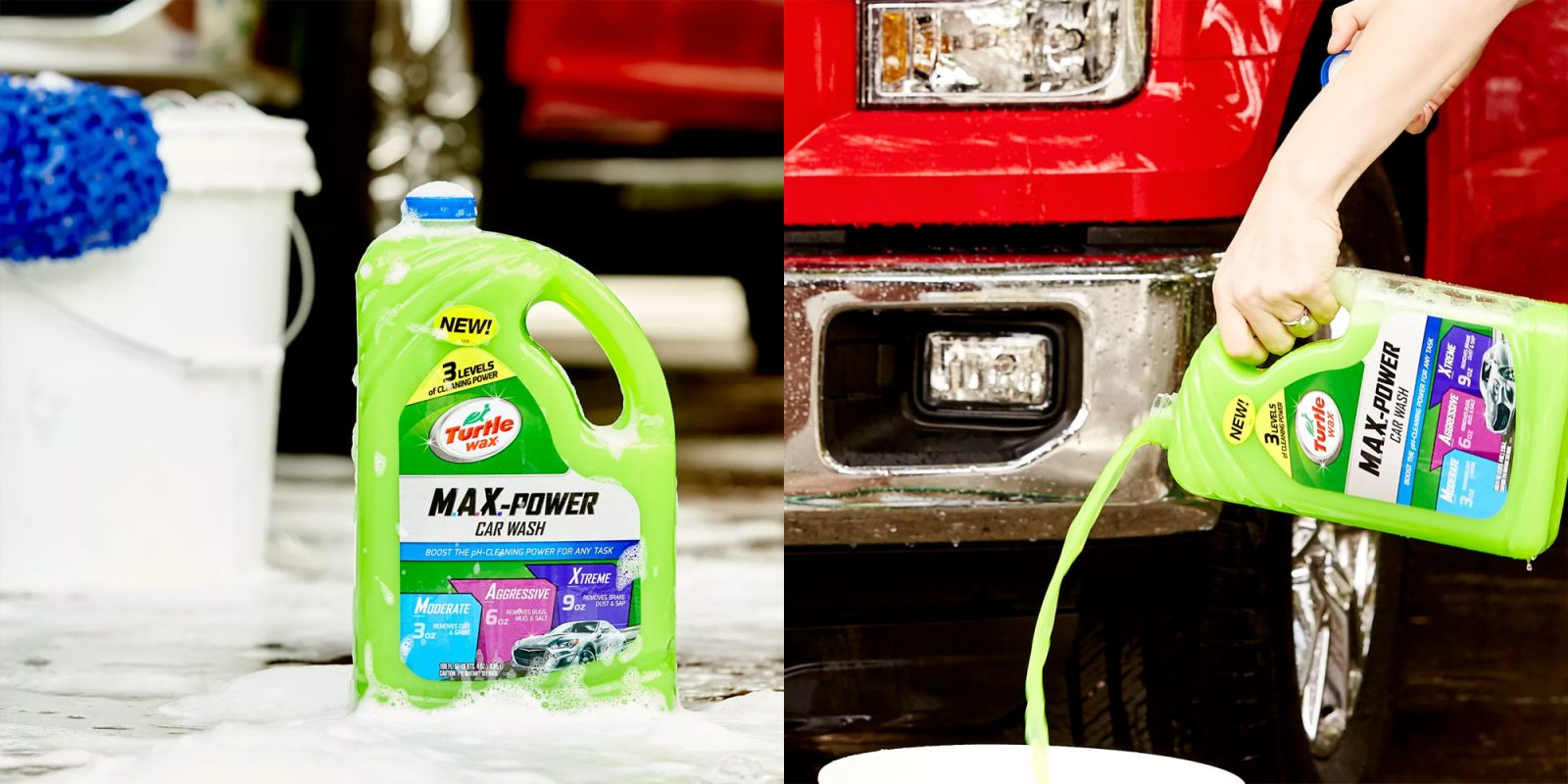 Clean Your Car W 100 Ounces Of Turtle Wax Max Power Car Wash For 5