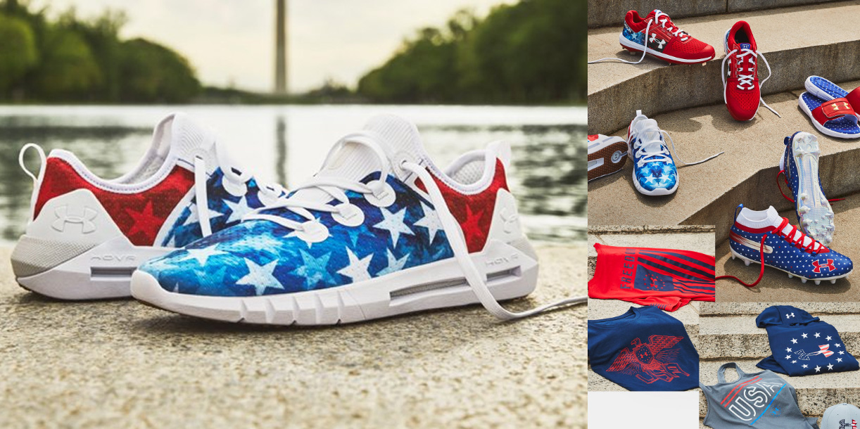 Under Armour Stars \u0026 Stripes collection