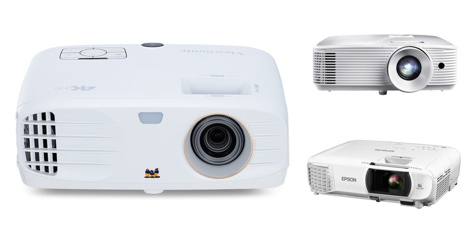 Enjoy 300-inches of 4K w/ ViewSonic's UHD Projector for $824, more from $465