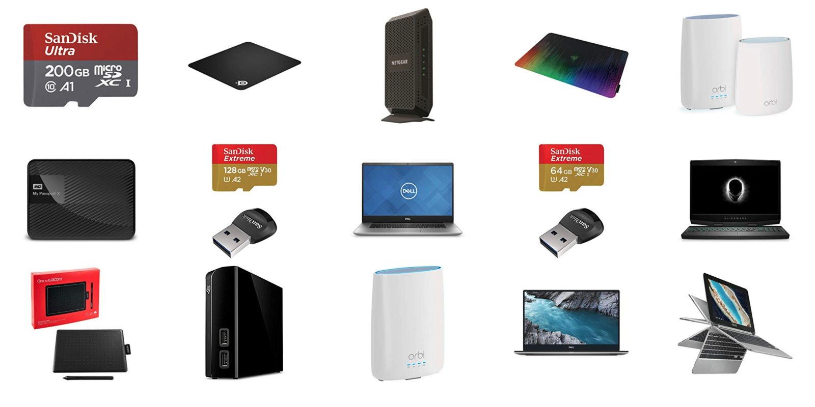 Amazon's Gold Box has Mac/PC gear from SanDisk, NETGEAR, more starting at $10