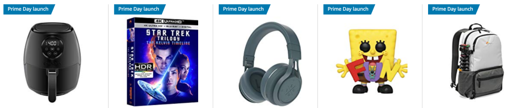 featured amazon prime day launches