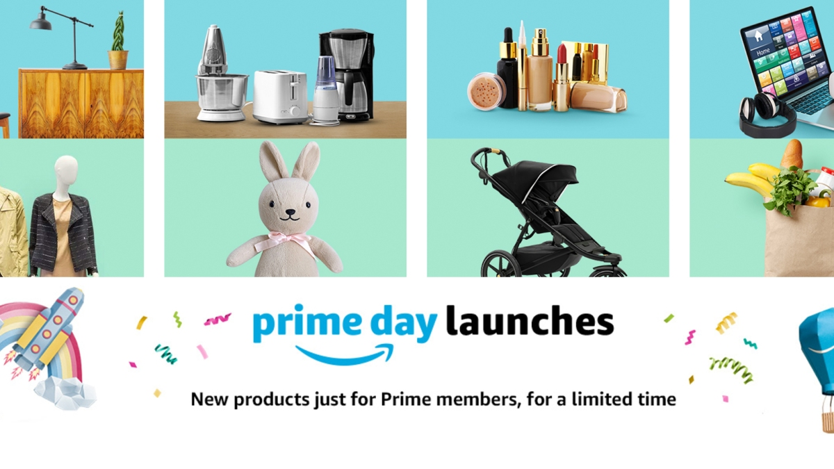 amazon featured prime day launches