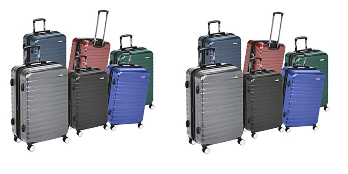Woot has huge discounts on AmazonBasics luggage from $30 Prime shipped