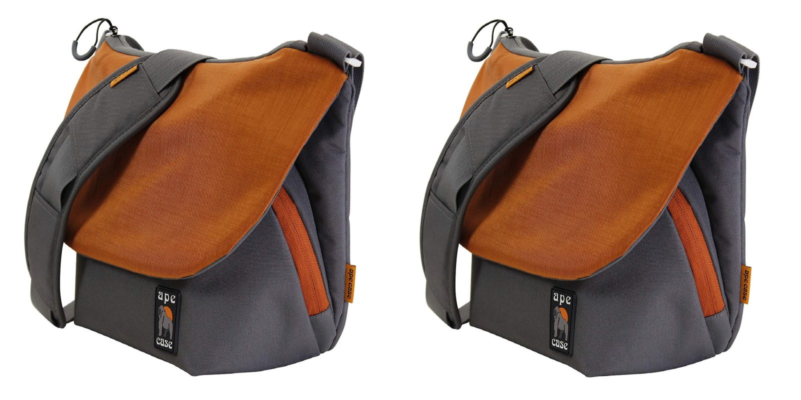 Tote your DSLR and iPad in the Ape Case Large Messenger Bag for only $23.50