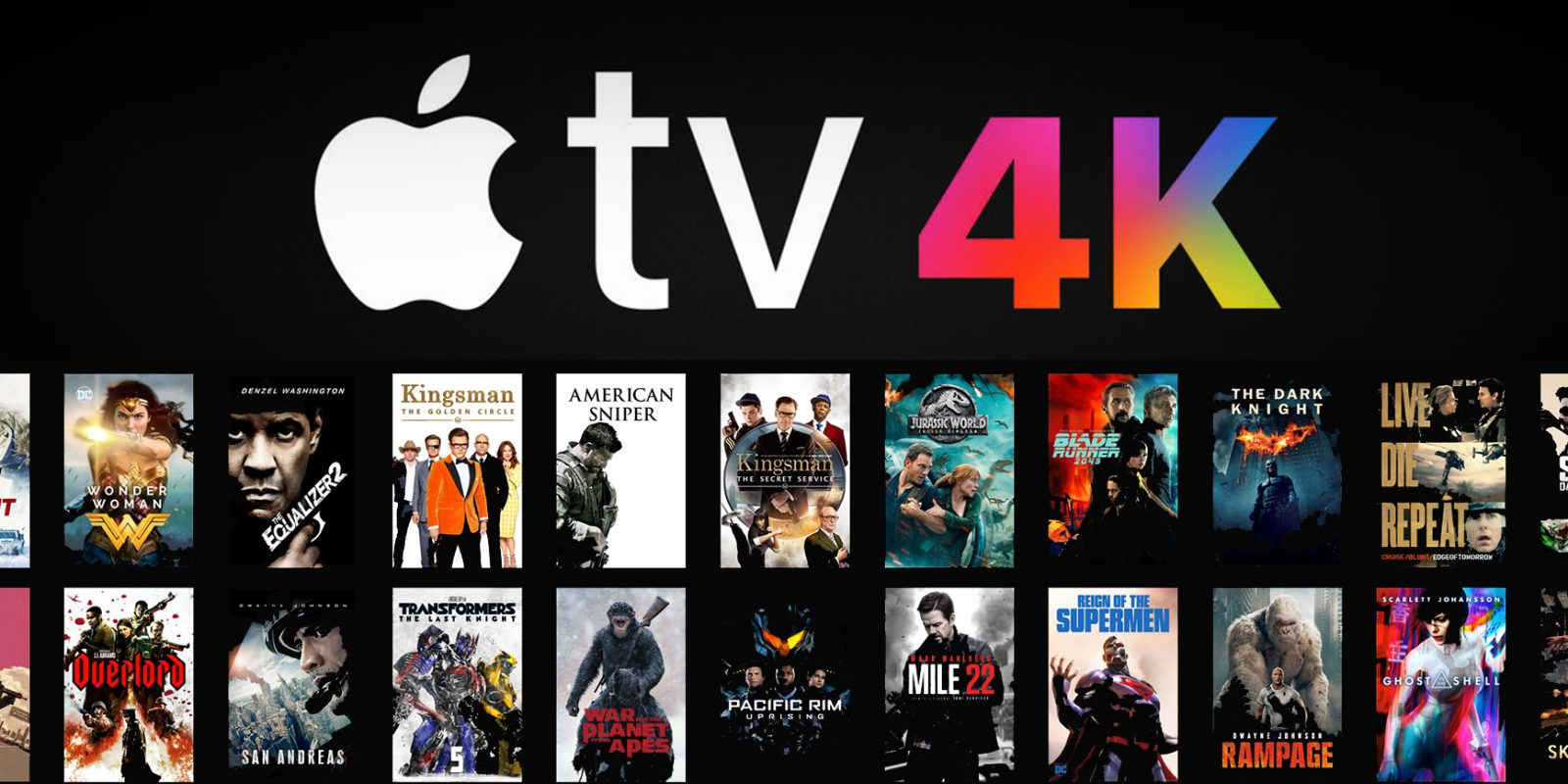 Best iTunes movie deals of the week: $10 4K sale, $1 horror rentals, more from $5