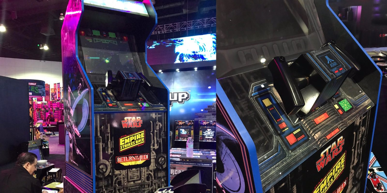 Arcade1Up Star Wars 3/4th-scale Arcade Cabinets debut at E3