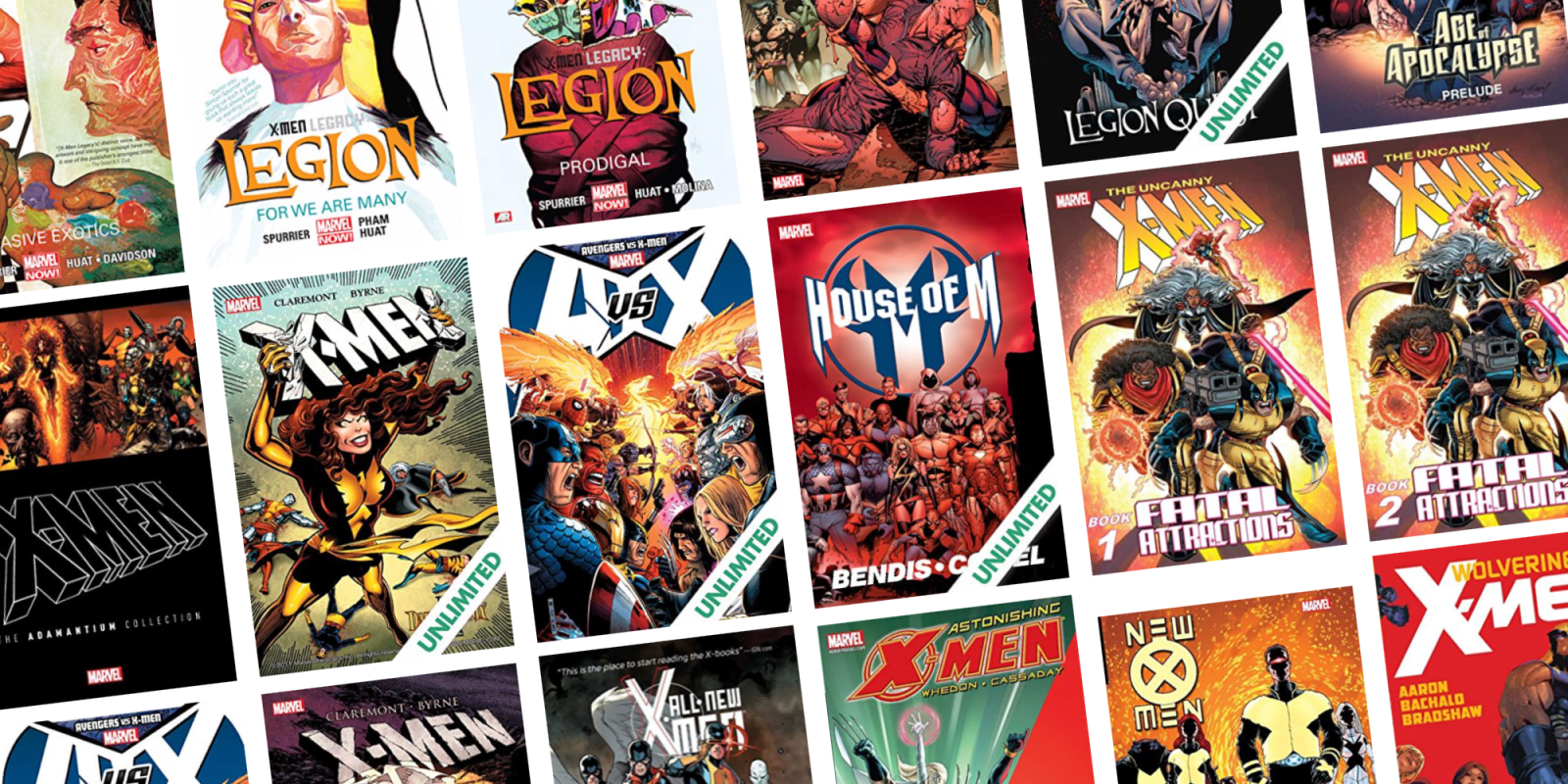 Take up to 70% off X-Men and Legion digital releases at ComiXology from $1