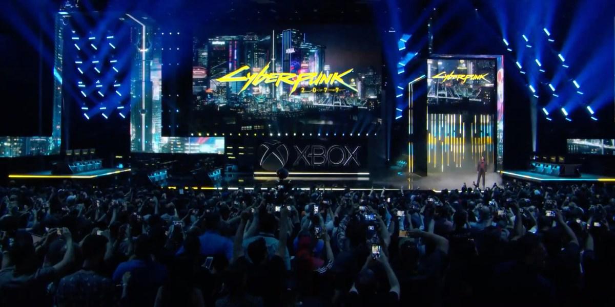 Cyberpunk 2077 shown at E2 2019