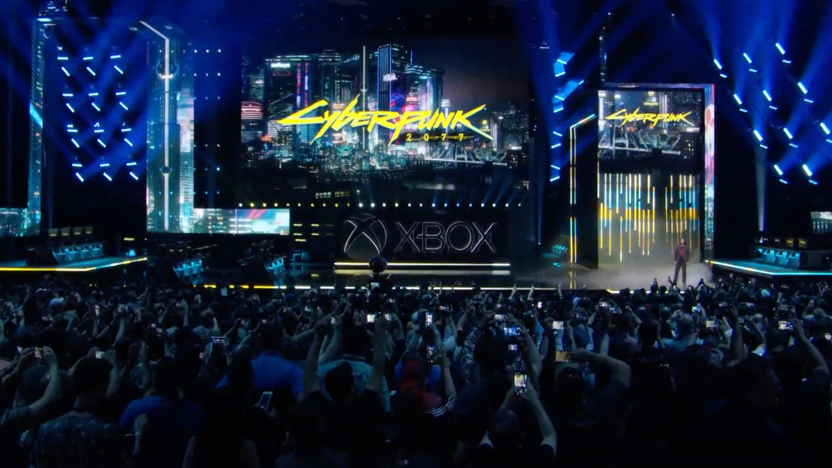 Cyberpunk 2077 shown at E2 2019