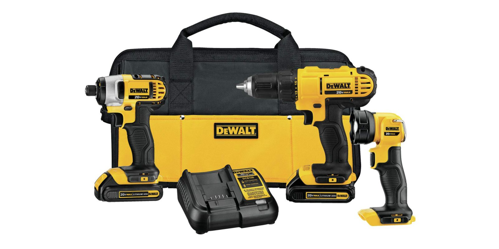 Amazon's Gold Box has DEWALT combo tool kits and more from