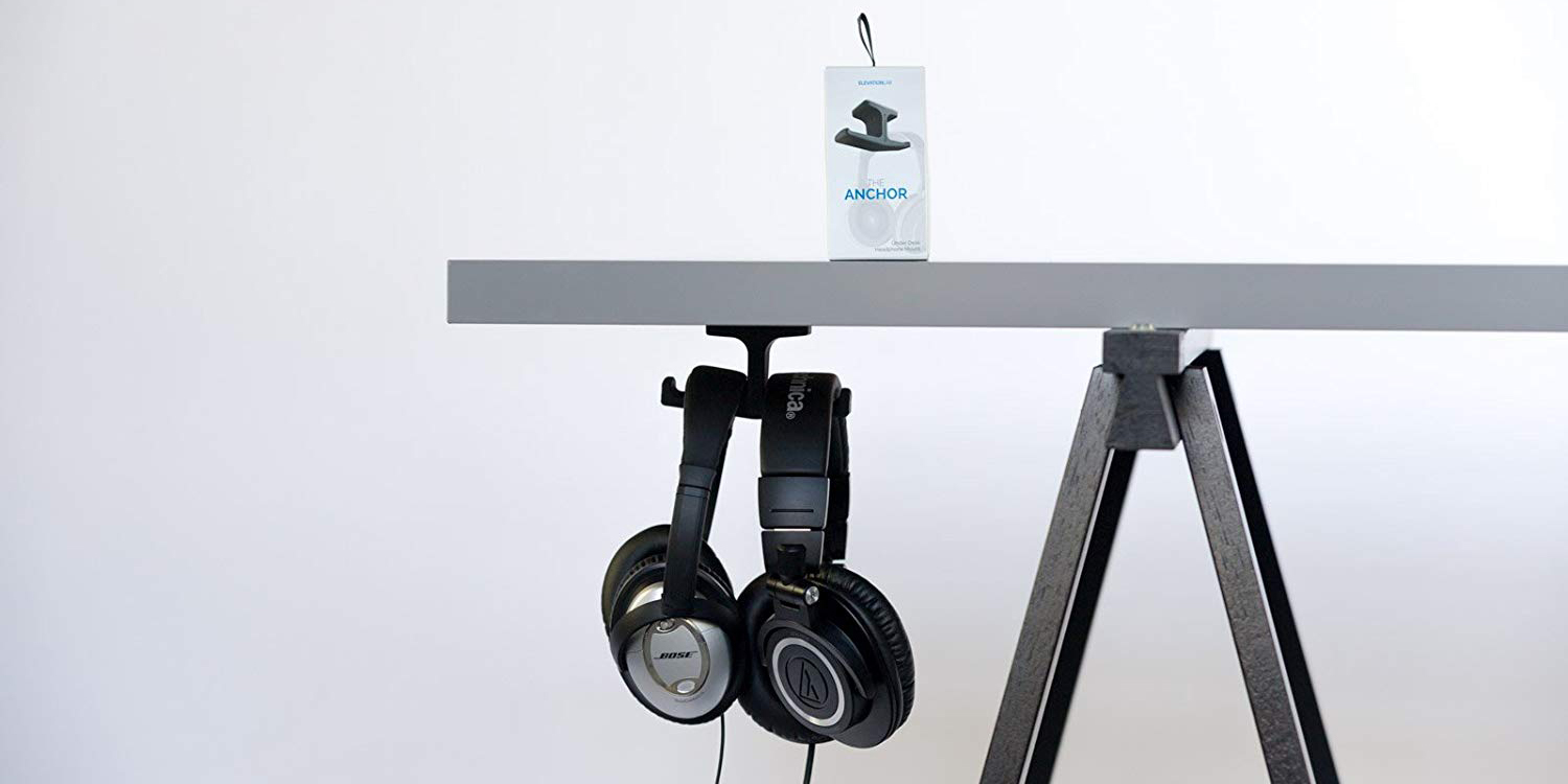 Elevation Lab's amazing under-desk headphone mounts starting from $9 (30% off)