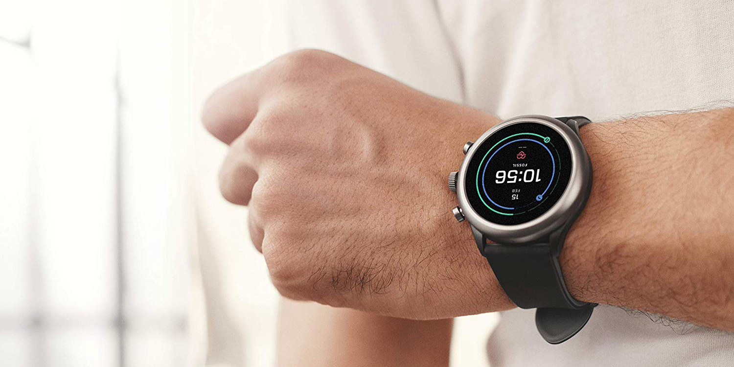 Take $124 off Fossil's Sport Wear OS Smartwatch at an Amazon low of $151