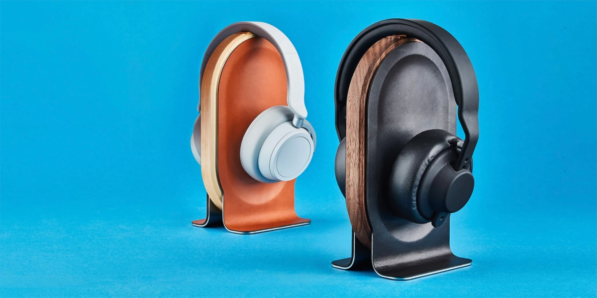 Grovemade headphone stand in two colors